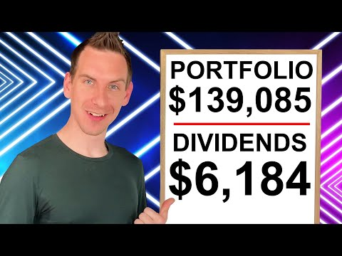 6 Figure Dividend Portfolio Dripping $6,184 + Stocks To Buy Now | Passive Income Review