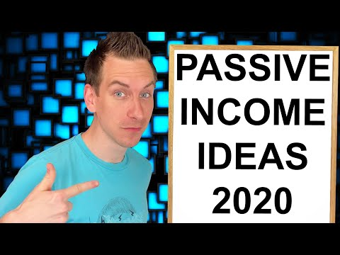 Best Passive Income Ideas 2020 | Make $2,000 A Month Online
