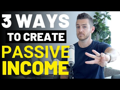 3 Ways To Create Passive Income Online