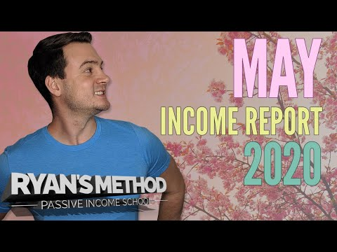 PASSIVE INCOME REPORT 💰 May 2020 — 5 Figure Profits During a Pandemic