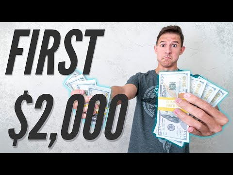 OUR FIRST $2,000 OF PASSIVE INCOME – 5 Beginner Ideas We've Put into Practice that Earn $62/Day