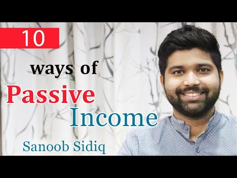 10 ways of Passive Income – Malayalam