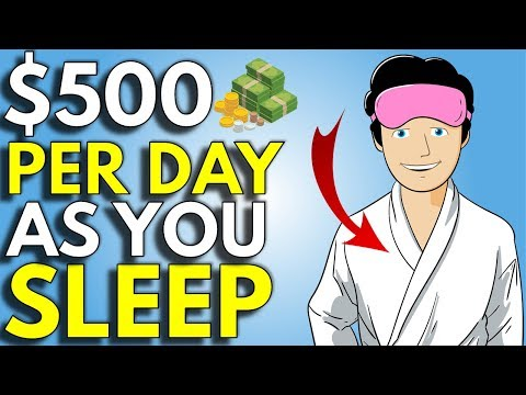 5 Ways To Make Money While You Sleep | How To Make Passive Income