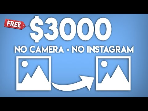Earn $3,000+ Copy & Pasting Photos | NO SELLING (Passive Income)