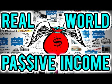 💰 7 Ways To Earn Passive Income In The Real World – How To Create Wealth With Passive Income