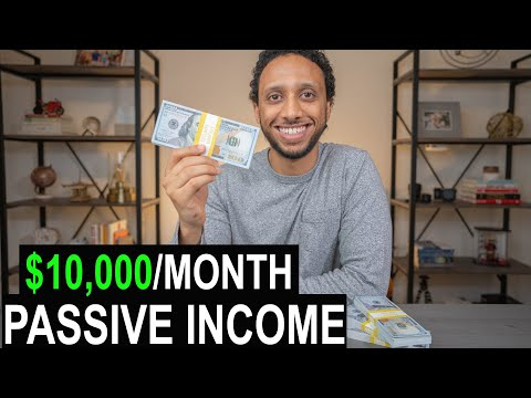 $10,000/Month Passive Income (ANYONE Can Do)