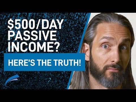 Passive Income Streams (and the TRUTH no one wants to tell you) / Garrett Gunderson