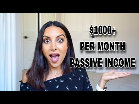 6 PASSIVE INCOME Ideas to MAKE MONEY WHILE YOU SLEEP