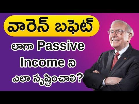 Passive Income in Telugu – Warren Buffett Passive Income Tips in Telugu   Money Doctor Show Tv5