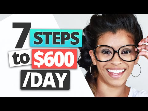 7 Week Passive Income Strategy – How I Earn $600 A Day!   Marisa Romero