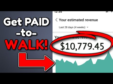 Make $600 a DAY for WALKING – Make Money Online (Passive Income)