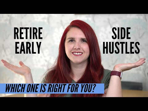 FIRE (retire early) vs PASSIVE INCOME SIDE HUSTLES – Which is the better to replace your 9-5?