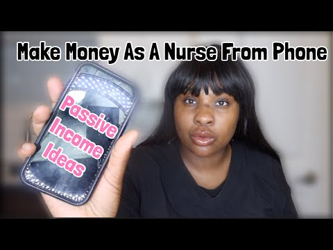 How to make more money as a nurse | Passive income for nurses