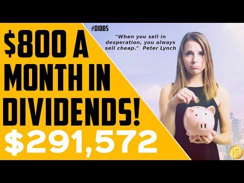 Dividend Income Portfolio Producing $800/month!  | 💰 PASSIVE INCOME | FIRE MOVEMENT | Ep.9