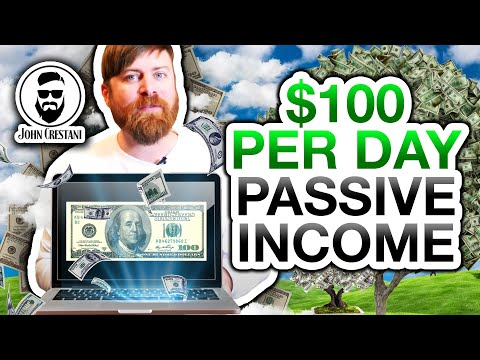 Passive Income – How To Easily Make $100 Per Day