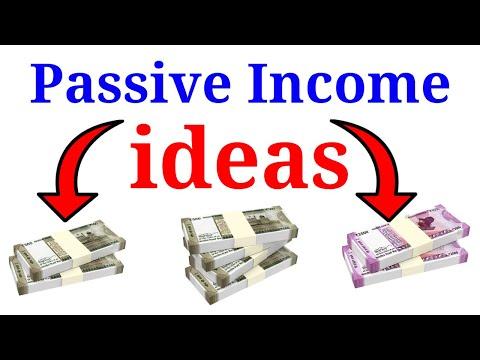 PASSIVE INCOME IDEAS, How to Create Passive Income in Hindi (Episode 2) Financial Freedom