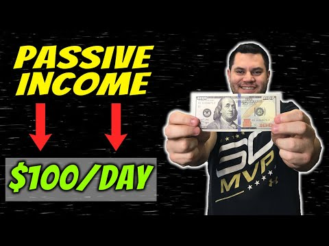 Passive Income Ideas To Make $100 Per Day