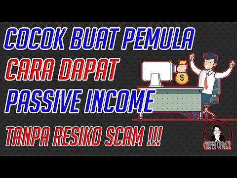 COCOK BUAT PEMULA! || Cara Dapat Passive Income Tanpa Resiko