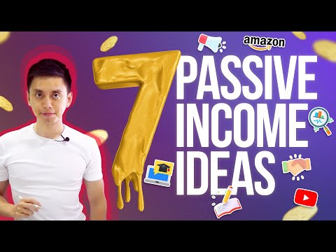 7 Passive Income Ideas that Make $1,000 a Month (Make Money Online 2020)