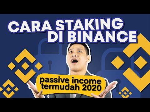 Cara Mudah Staking di Binance untuk passive income!