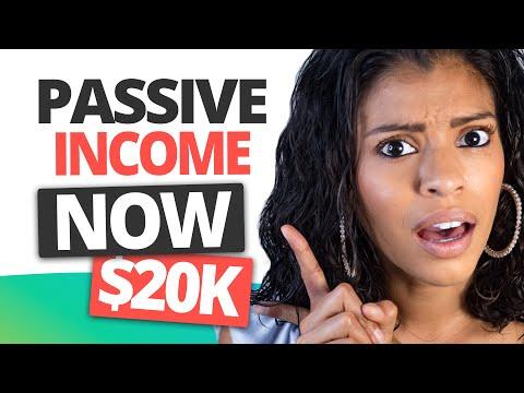 USE THESE Passive Income Streams To Make $20,000 / Month! | Marissa Romero