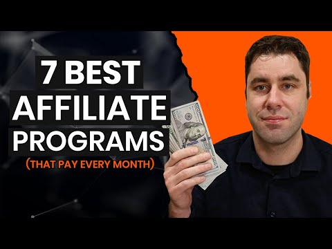 The 7 BEST Affiliate Programs That Make Monthly Passive Income In 2020
