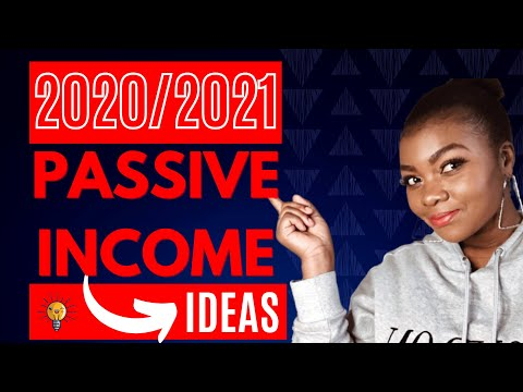 5 Passive Income Ideas for 2020 and 2021! Earn $1000 Every Month