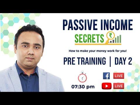 Passive Income Secrets | PRE TRAINING – DAY 2