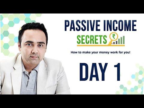 Passive Income Secrets – Day 1