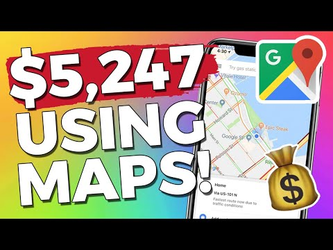 Make $5000 Using Google Maps- Monthly Passive Income!