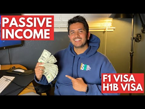 How To Make Passive Income On H1B Visa and F1 Visa! Personal Finance #1