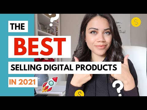 BEST DIGITAL PRODUCTS TO SELL ONLINE IN 2021 | PASSIVE INCOME IDEAS