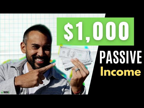 How to Make $1,000 of Passive Income Monthly (10 Strategies)