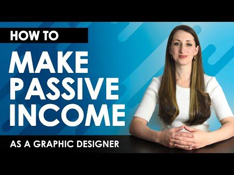 How to Make Passive Income as a Graphic Designer