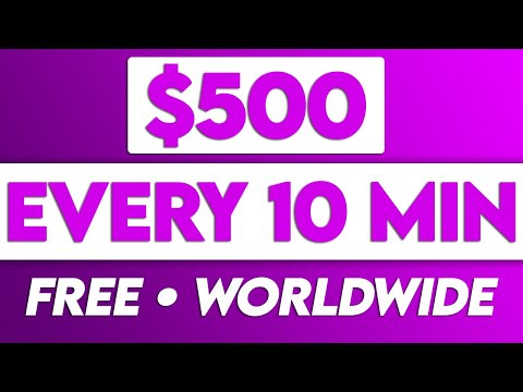 Earn $500 In 10 Minutes Over & Over For FREE (Passive Income 2021)