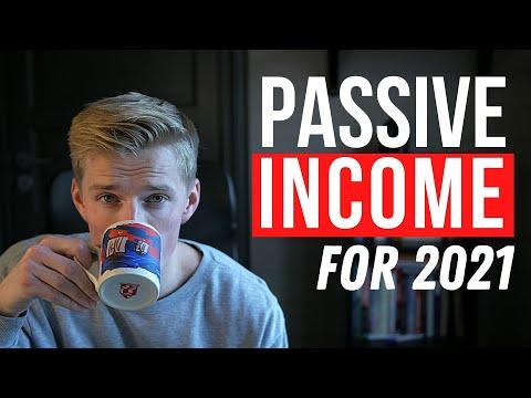 Top 3 Passive Income Ideas for 2021!
