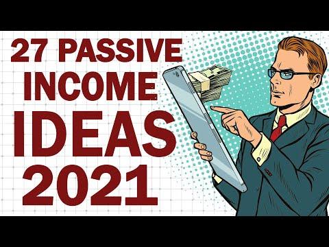 27 Passive Income Ideas for Part Time Income in 2021