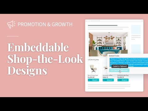 DesignFiles.co – Earn passive income with embeddable shop-the-look designs