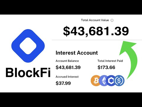 Blockfi | How to Earn Passive Income Through Cryptocurrency 2021