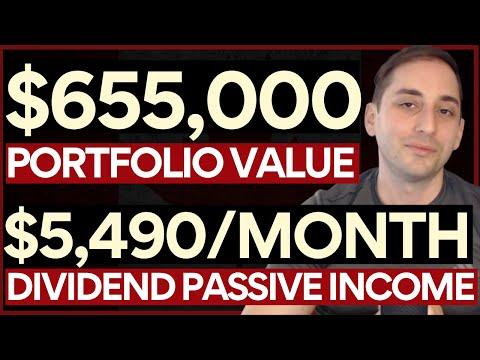 My Entire $655,000 Dividend PORTFOLIO Update & Review #4. $5,490/Month of PASSIVE INCOME! April 2021