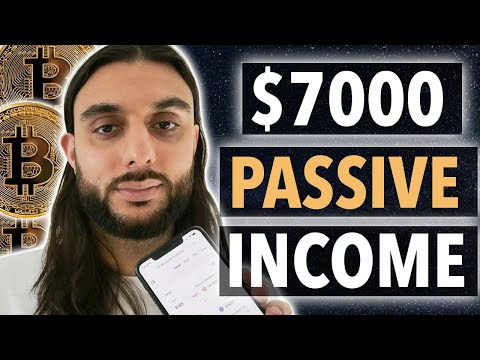3 Passive Income Methods – How I Make $7k Per Month With Cryptocurrency