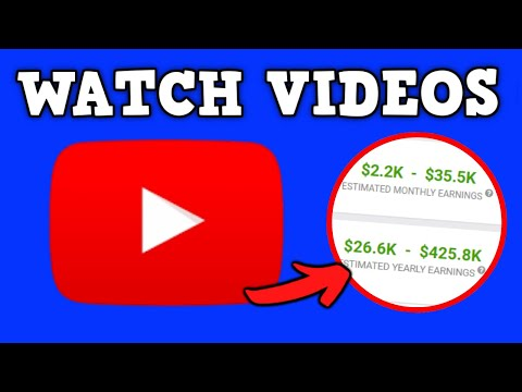 How To Watch Youtube Videos and Make Money Online ($35K) Passive Income
