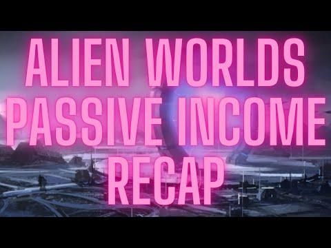 ALIEN WORLDS – PASSIVE INCOME RECAP & TRILLIUM PRICE #ALIENWORLDS #TRILLIUM #TLM #NFT #PLAYTOEARN