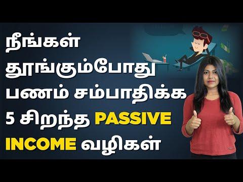 Passive Income In Tamil   5 Best Passive Ways to Make Money While You Sleep   Natalia