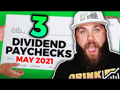 All Of My May Dividend Stocks Passive Income 2021 – 3 Paychecks!