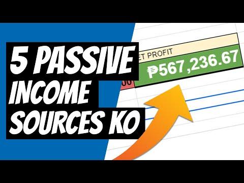 My 5 (Six Digits) Passive Income Streams Tagalog   Passive income Philippines   Illustrados