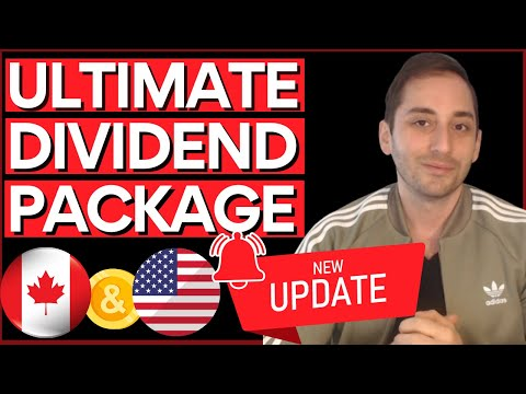 Ultimate Dividend Passive Income Package 2.0 | 250+ Stocks, 4 Sample Portfolios | NOW U.S. Friendly!