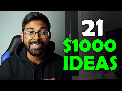 21 Passive Income Ideas 2021: Make $1000 Per Month