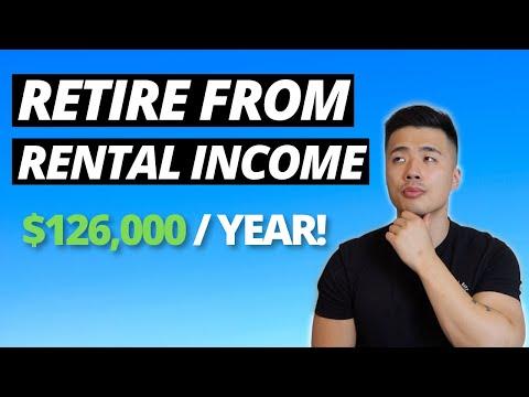 How To RETIRE From Rental Income   Australian Real Estate Investing   Passive Income Australia