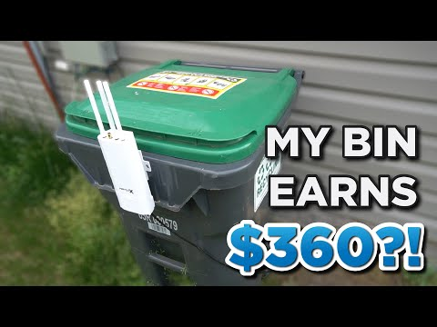 I'm earning $360 in PASSIVE INCOME with my TRASH CAN?!